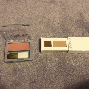 Two Clinique Items -Shadow & Blusher